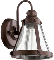 New Arrival - Quorum Signature 1 Light Wall Sconce in Oiled Bronze (30QU-587-1-86)