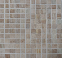 "Active Home Centre 11""x 11"" Mosaico Avorio Light Beige Porcelain Tile (10BES-MOSAVOLTBEG12)"