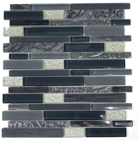 Active Home Centre Glass/Metal Mosaic (11BAR-CFS594)