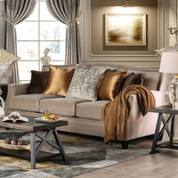 New Arrival - Furniture of America Camilla Sofa in Tan (25FA-SM2681-SF)
