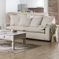 New Arrival - Furniture of America Acamar Love Seat in Ivory (25FA-SM9103-LV)