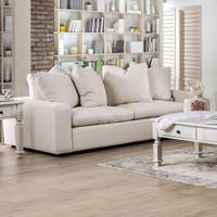 New Arrival - Furniture of America Acamar Sofa in Ivory (25FA-SM9103-SF)