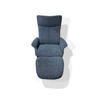 Active Home Centre Recliner with Ottoman in Belfast (25CM-CM79344AG)