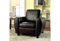New Arrival - Furniture of America Hatton Chair in Black