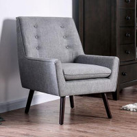 Ellery Accent Chair in Gray