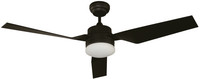 """New Arrival - Active Home Centre 52"""" Ceiling Fan in Black (29LU-22068-1)"""