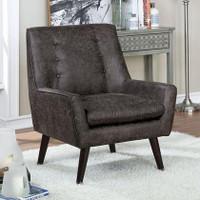 Ellery Accent Chair in Dark Gray