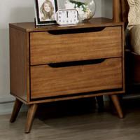 Furniture of America Lennart Nightstand in Oak (25FA-CM7386A-N)