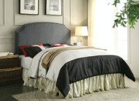 New Arrival - Furniture of America Hasselt Queen or Full Headboard in Gray