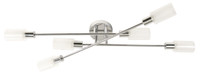 Active Home Centre 6 Light Ceiling Fixture in Chrome (30LU-03380-4)