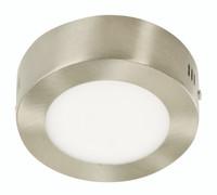 N6W LED E27 Ceiling Light in Satin Nickel (30LU-05434-4)