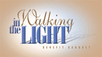 Walking in the Light Banquet Invitation Pack