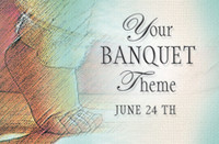 Your Theme Banquet Invitation Pack 102