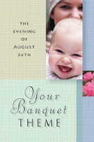Your Theme Banquet Invitation Pack 108