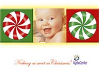 Customized Baby Christmas Card- 102