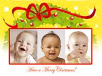 Customized Baby Christmas Card- 103
