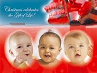 Customized Baby Christmas Card- 105
