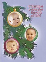 Customized Baby Christmas Card- 106