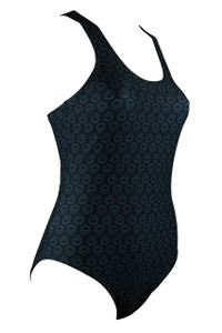 Icon Racing One Piece - Charcoal