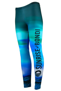 Its A New Day Moisture Management Legging - Sky