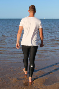 Mens Light Compression Legging - Logo