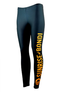 Signature Moisture Management Legging - Black (Mango)