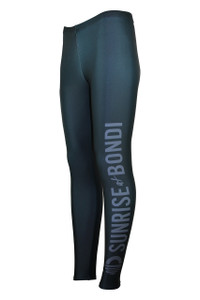Signature Moisture Management Legging - Charcoal