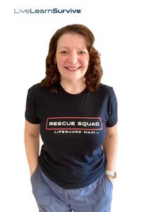 Adults 'Maxi's Rescue'  Squad 'T-Shirt