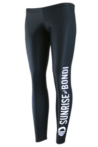 Signature Compression Legging - Black