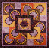 Purple Dawn Quilt Pattern