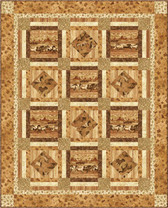 Cowboy Up Quilt Pattern