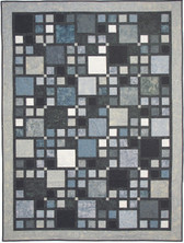 Walk in the City Quilt Pattern Hoffman Batiks
