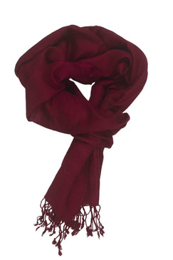 In-Sattva Colors - Elegant Solid Color Scarf Stole - Cerise