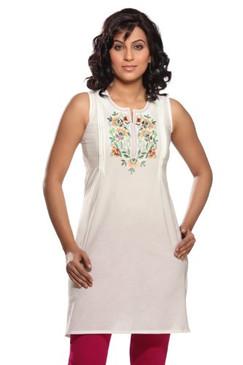 Women's Embroidered Cotton Mix N Match Kurta