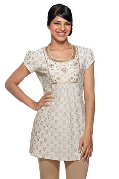 Women's Indian Mix N Match White Kurta