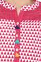 Kurta Tunic Women's Long Summer Pure Cotton Diamond Print - In-Sattva - Garment details