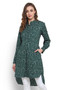 Garden-print - Cotton Exclusive In-Sattva Kurta Tunic - Front | In-Sattva