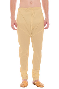 Mens Traditional Indian Churidar Pants - Front | In-Sattva