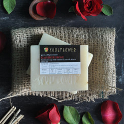 Soulflower Indian 100% Natural Kashmiri Rose Soap, USFDA approved, Vegan and Organic (Pack of 3)
