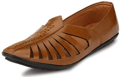 In-Sattva Men's Lazer-Cut Mojari Festival Shoe