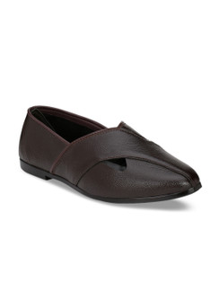 In-Sattva Men's Classic Cut Mojari Formal Shoes