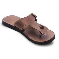 In-sattva Men's Handmade Ethnic Chappal Sandals