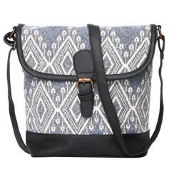 Women's Crossbody Cedar Gray Boho Textured Bag