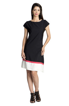 MOHR Women's Dress with Color Blocking åäÌÝÌÕ Front