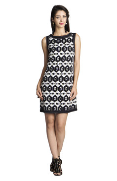 MOHR Women's Sleeveless Printed Dress åäÌÝÌÕ Front