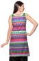 Rangmanch Women's Kurta Tunic- Multi Stripes ÌÎå«ÌÎ_ÌÎÌ_ÌÎåÌÎÌ_ÌÎå´ Back