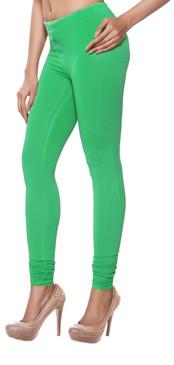 Solid Churidar Leggings - Mint Green