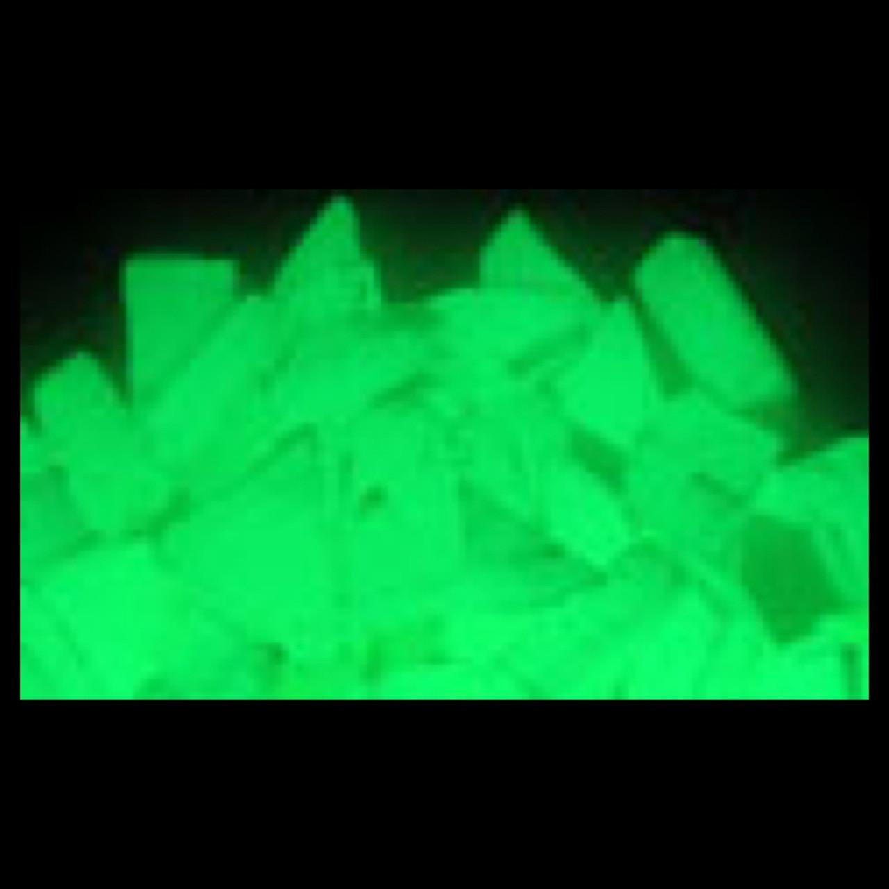 Ultra Green Glow in the Dark Sand 1 Ounce Glow Inc.