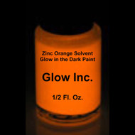 Orange Zinc Solvent-Based Glow in the Dark Paint