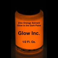 Orange Zinc Solvent-Based Glow in the Dark Paint